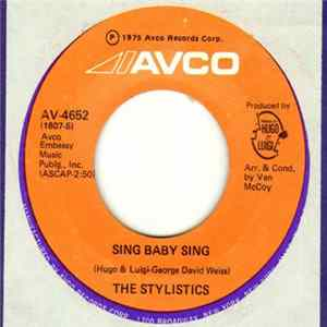 The Stylistics - Sing Baby Sing / Thank You Baby para Descargar Gratis